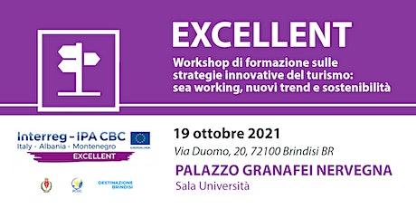 Workshop-Innovazione del turismo sostenibile. SeaWorking e turismo del mare biglietti