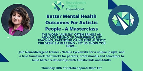 Mental Health and Autism - The Truth tickets