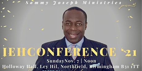 Int'l Experience HarvestWays Conference, '21 tickets