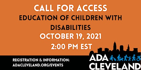 Education of Children with Disabilities tickets
