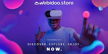 Inaugurazione Webidoo Store biglietti