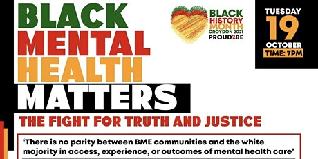 Black Mental Health Matters: The Fight for Truth and Justice tickets