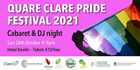Clare Pride Party 2021 tickets