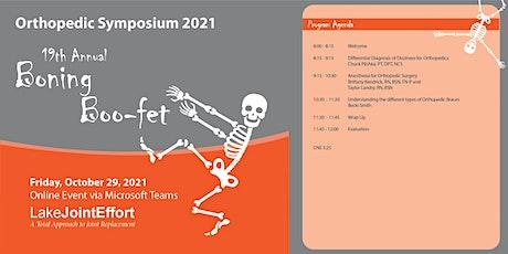 Boning Boo Fet Orthopedic Symposium tickets