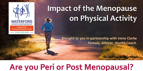 The Impact of menopause on Physical Activity tickets