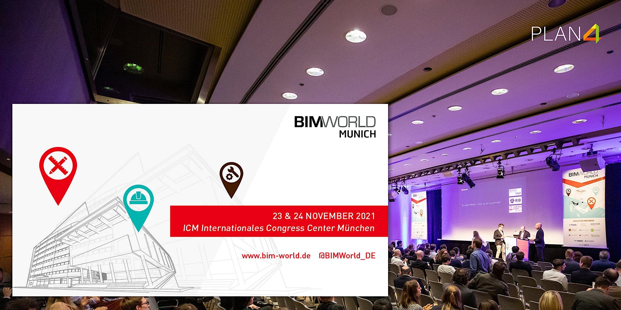 Die BIM World in München – Treffen Sie uns auf der Messe!
