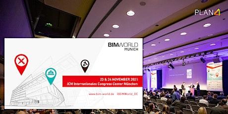 Die BIM World in München - Treffen Sie uns auf der Messe! Tickets