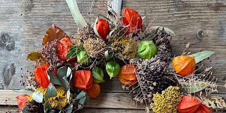 Autumnal Wreath Workshop tickets