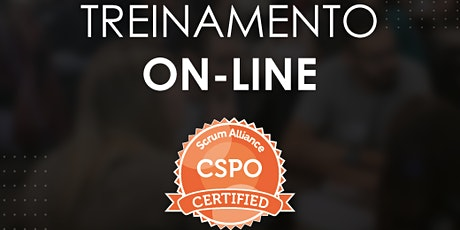 Treinamento CSPO® - Certified Scrum Product Owner - ONLINE #91 ingressos
