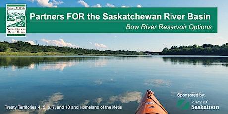 PFSRB Webinar - Bow River Reservoir Options tickets