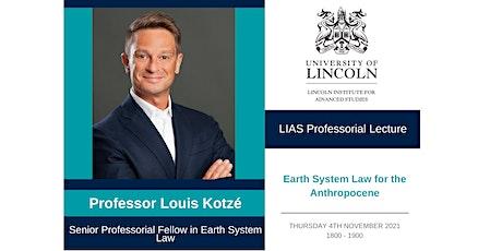 LIAS Professorial Lecture: Professor Louis Kotzé tickets