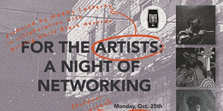 For The Artists: A Night of Networking tickets