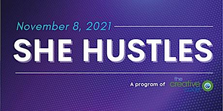 SHE HUSTLES - November 8, 2021 @ Front Porch Improv tickets