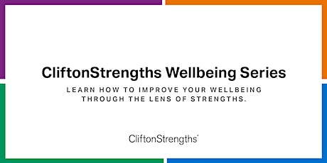 CliftonStrengths: Wellbeing at Work - How to use the Series tickets