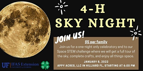 4-H Sky Night tickets