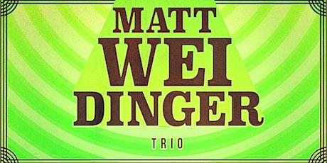 Matt Weidinger Trio live in London tickets