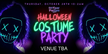 HALLOWEEN COSTUME PARTY   BU & NC's Official 2021 Halloween Event tickets