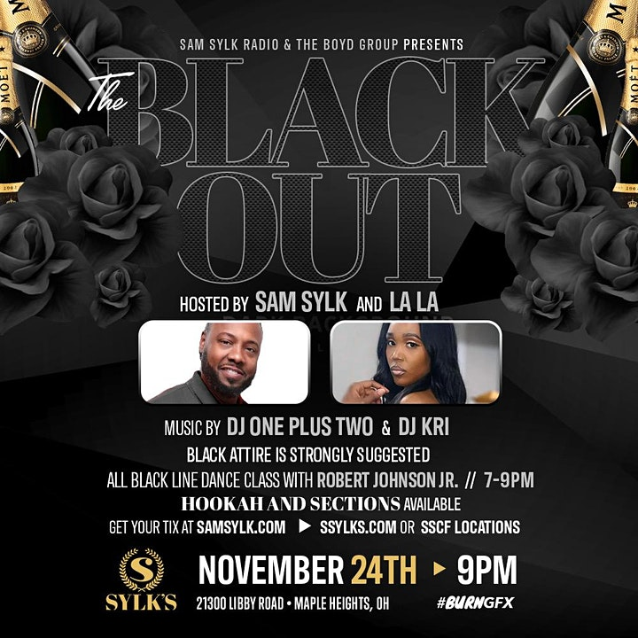 Sam Sylk & The Boyd Group presents The Black Out image