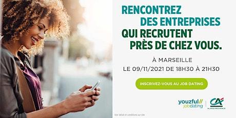 Job Dating à Marseille : décrochez un emploi ! billets