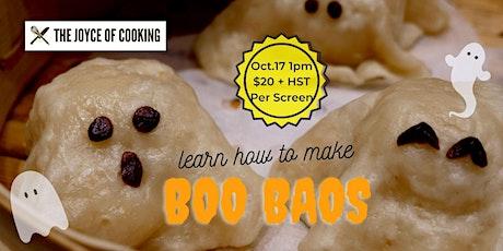 Learn How to Make Boo Baos (Custard Filled Chinese Baos) tickets