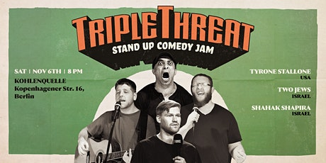 TRIPLE THREAT - VOL 5 - Stand Up Comedy Jam Tickets
