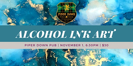 November Alcohol Paint Party tickets