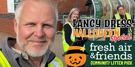 Fresh Air And Friend Litter Pick - HALLOWEEN SPECIAL! tickets