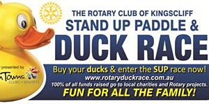 Kingscliff Rotary Paddle Board Race