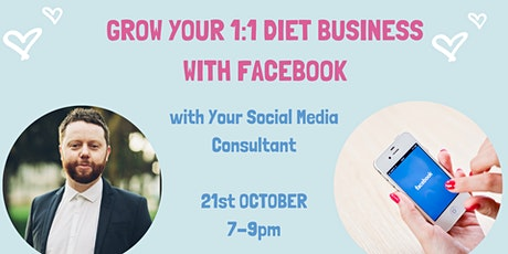 Grow your 1:1 Diet business with Facebook tickets