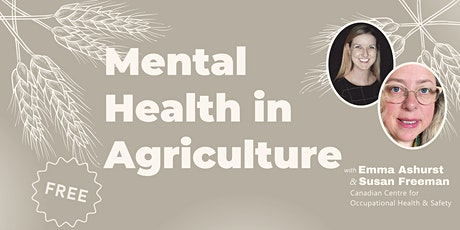 Mental Health in Agriculture tickets