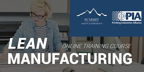 Lean Manufacturing 101 Training tickets