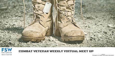 Combat Veteran Peer to Peer Support Group tickets