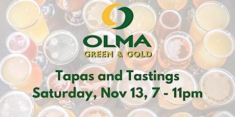 Green & Gold Tapas & Tasting Evening tickets