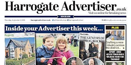 Harrogate Advertiser First Class New Starter's Edition tickets