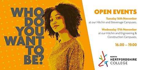NHC Open Event - Construction tickets