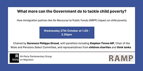 What more can the Government do to tackle child poverty? tickets