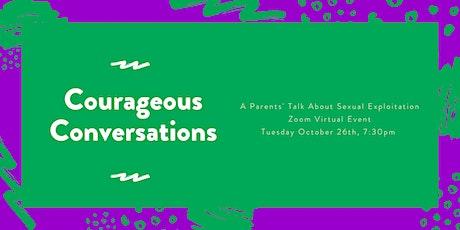 Conversation about Sexual Exploitation for Parents & Caregivers tickets