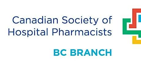 CSHP-BC Island Chapter Fall CE Event 2021 - LIVESTREAM tickets