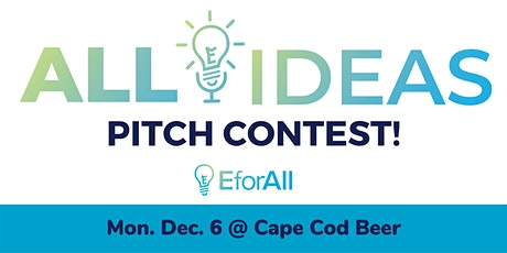EforAll Cape Cod Winter 2021 Pitch Contest tickets