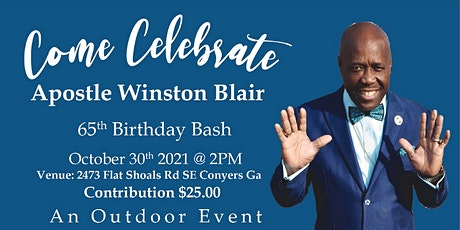 Apostle Blair 65th Birthday Bash tickets