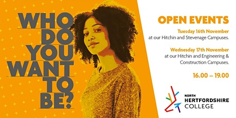 NHC Open Event - Creative & Performing Arts tickets