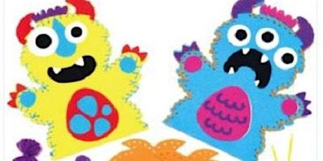 Halloween Craft event Monster Puppets tickets