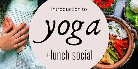 Yoga + Lunch Social | Breath, Eat & Meet tickets
