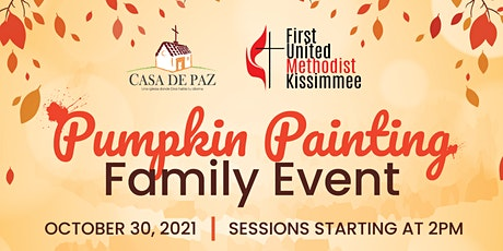 Family Pumpkin Painting Event 2021 tickets