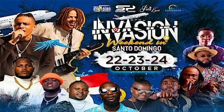 DR INVASION WEEKEND (Santo Domingo) tickets