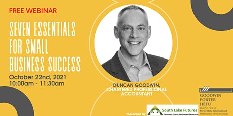 Seven Tax Essentials For Small Business Success tickets