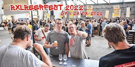 BXLBeerFest 2022 billets