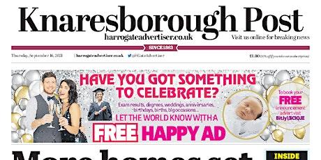 Knaresborough Post First Class New Starter's Edition tickets
