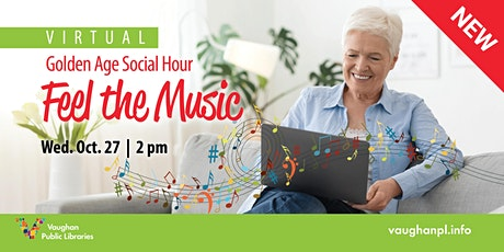 Golden Age Social Hour: Feel the Music tickets