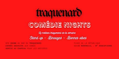 Traquenard Comédie Night #3 - Stand up de qualité billets